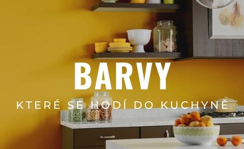 Jakou barvou vymalovat kuchyň, abyste se v ní cítili dobře?