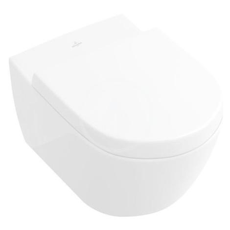 VILLEROY & BOCH Subway 2.0 Závěsné WC, DirectFlush, AntiBac, CeramicPlus, alpská bílá 5614R0T2