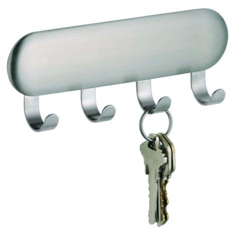Samodržicí věšák na klíče iDesign Forma, 5,5 x 14 cm