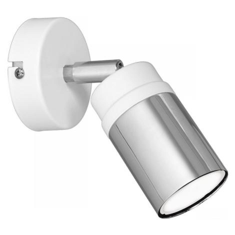 Luminex Nástěnné bodové svítidlo NEST 1xGU10/8W/230V bílá/chrom