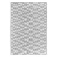Boxxx VENKOVNÍ KOBEREC, 90/150 cm, šedá, bílá