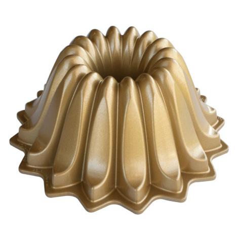 Nordic Ware Forma na bábovku Lotus 1,2 l, zlatá