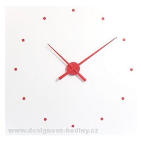 Designové nástěnné hodiny NOMON OJ červené 50cm FOR LIVING