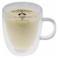 Maxxo Escential Svíčka ve skle Vanilla, přírodní vosk, 300 g