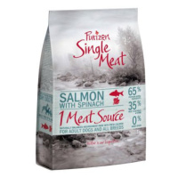 Purizon Single Meat Adult losos a špenát - bez obilovin - 4 kg