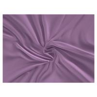 Saténové prostěradlo (160 x 200 cm) - fialové