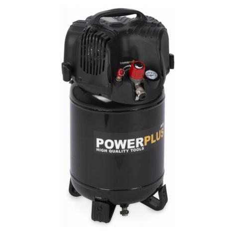 Powerplus Kompresor POWEPLUS 1100W 24L + 7 ks přísl. bezolejový