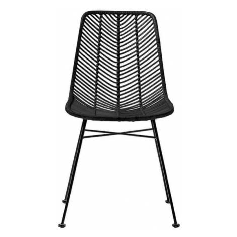 Muzza židle lena černá