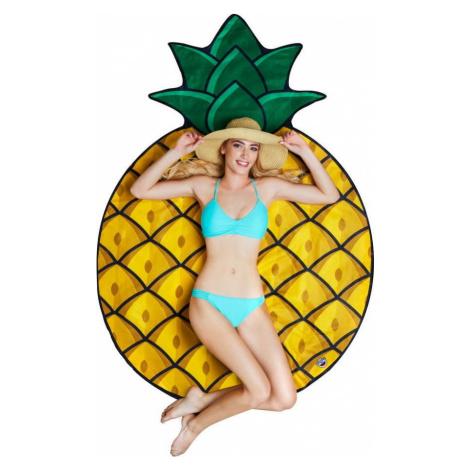 Plážová deka ve tvaru ananasu Big Mouth Inc., ⌀ 152 cm