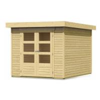 Dřevěný domek KARIBU ASKOLA 3 (73060) natur