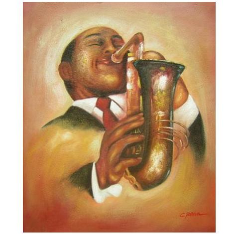 Obraz - Jazzman II FOR LIVING