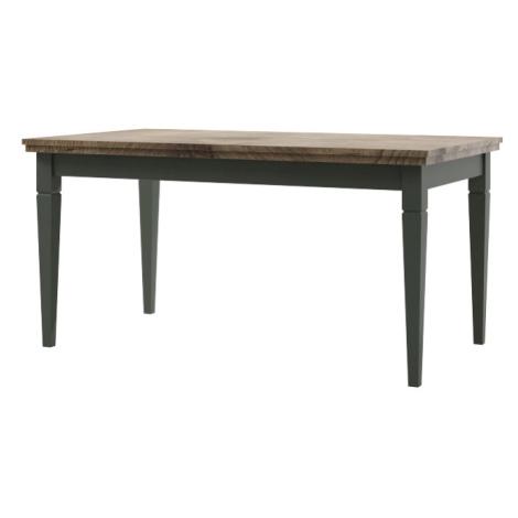 Jídelní stůl Estera 92, zelená/dub lefkas IMS FORINVEST LTD
