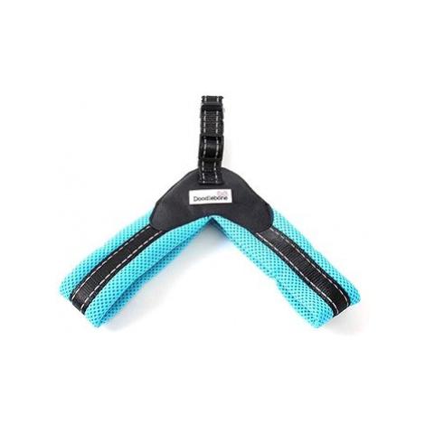 Postroj Doodlebone Boomerang Blue S