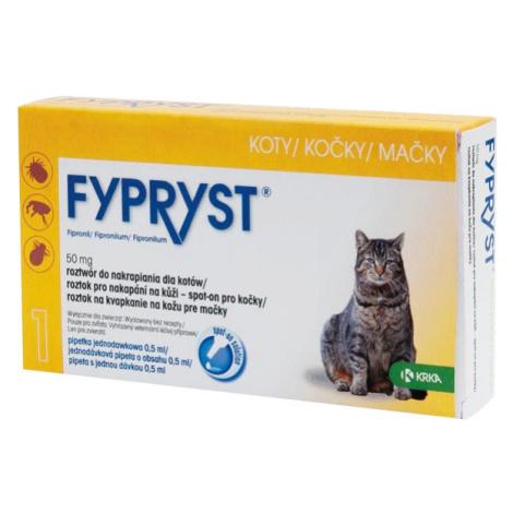 Fypryst Spot-on Cat sol 1x0,5ml + Množstevní sleva 2+1 zdarma (do vyprodání)