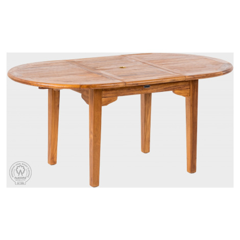 FaKopa Stůl oválný z teaku ELEGANTE II