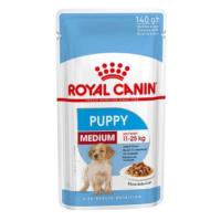 Royal Canin Medium Puppy kapsičky - 40 x 140 g