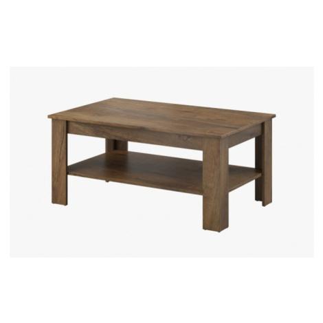 Konfereční stolek - dřevěný konferenční stolek nive - obdélník (dub burgundský) Wipmeb