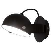 Viokef LED nástěnné světlo Hemi otočné stínidlo černé