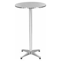 Skládací zahradní stůl hliníkový 60 cm