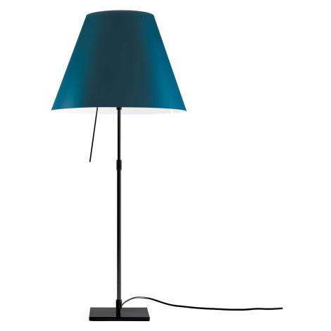 Luceplan Luceplan Costanza stolní lampa D13 černá/modrá