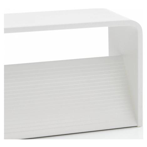 Lucande Lucande Sessa LED nástěnné světlo 37cm bílá