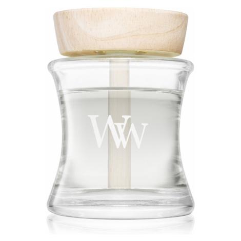 WoodWick aroma difuzér s dřevěným víčkem White Tea & Jasmine