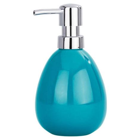 Petrolejově modrý dávkovač na mýdlo Wenko Polaris Petrol