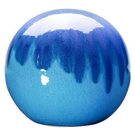 DEKORAČNÍ KOULE, kámen, 24 cm - modrá