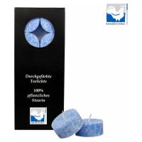 Kerzenfarm Čajové svíčky, Blue 10 ks