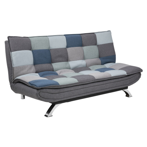 Dkton Designová rozkládací sedačka Alun 196 cm patchwork