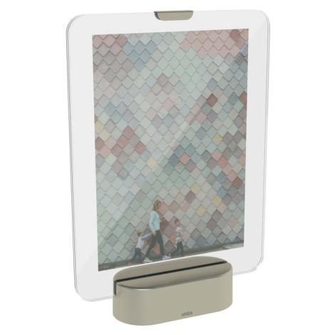 LED rámeček na fotografii se základem v šedé barvě Umbra Glo, 13 x 18 cm