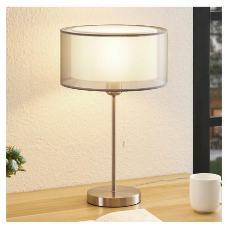 Lindby Lindby Taxima stolní lampa, šedá