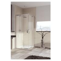 Sprchový kout čtverec 100x100x200 cm Huppe Aura elegance chrom matný 401310.087.322