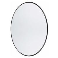 Nástěnné zrcadlo kulaté Copenhagen S   černá