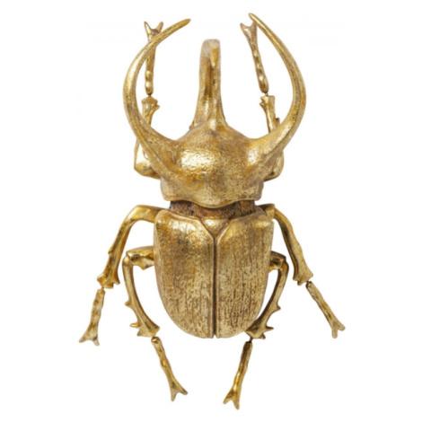 Nástěnná dekorace Atlas Beetle - zlatá Kare Design