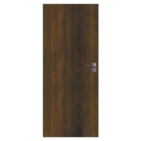 Interiérové dveře Naturel Ibiza levé 80 cm ořech karamelový IBIZAOK80L