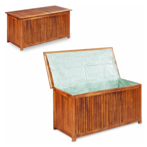 Zahradní úložný box akáciové dřevo vidaXL