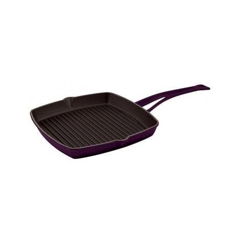 LAVA METAL Litinová grilovací pánev 26x26 cm - světle fialová