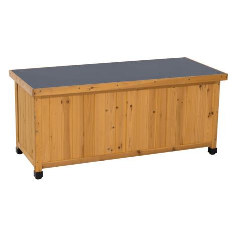 Zahradní úložný box, olše/šedá, NAKAN Tempo Kondela
