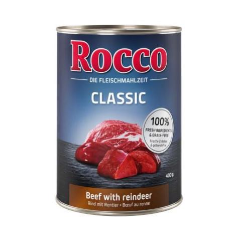 Rocco Classic 6 x 400 g - Hovězí se zvěřinou
