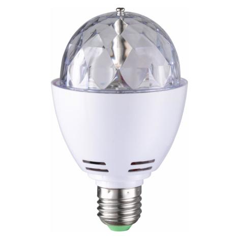 WOFI ACTION LED žárovka RGB DISCO E27 otočná 3W WO 0730