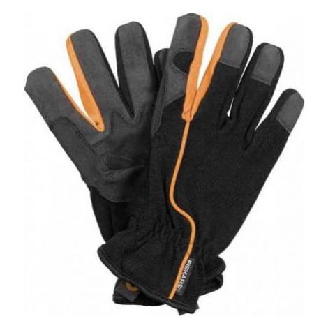 Pánské černé pracovní rukavice Fiskars, vel 10
