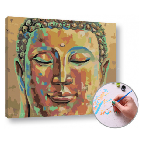Malování podle čísel SPÍCI BUDHA – nízká náročnost