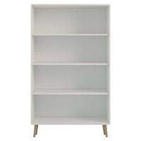 Krémově bílá knihovna Steens Soft Line, 166 x 81,3 cm