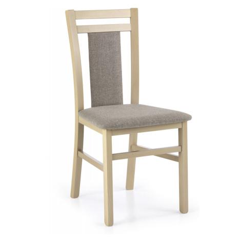 Masivní jídelní židle Emge dub sonoma