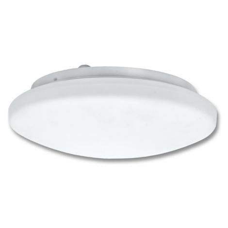 Ecolite Stropní svítidlo, bílé, IP44, 2x60W, HF senzor 360 W141-BI