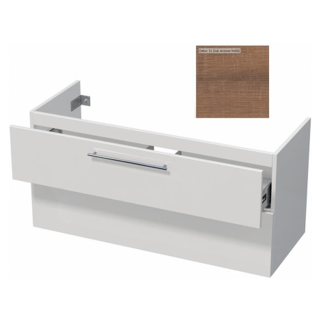 Koupelnová skříňka pod umyvadlo Naturel Ratio 114x56x46 cm Dub Arizona hnědý TF1202Z56.51