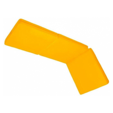 Skládací matrace žlutá