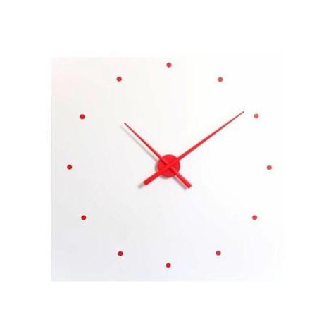 Designové nástěnné hodiny NOMON OJ červené 80cm FOR LIVING