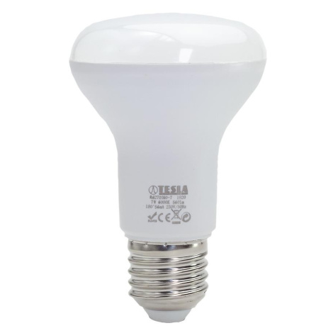 LED žárovka Reflektor R63 7W E27 6500K Tesla